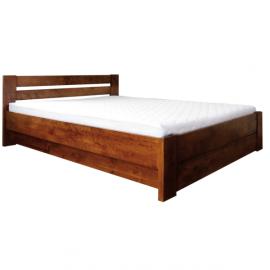 Łóżko LULEA PLUS EKODOM drewniane