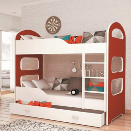 Łóżko DOMINIK AJK MEBLE piętrowe