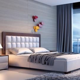 Łóżko AZURRO NEW DESIGN tapicerowane