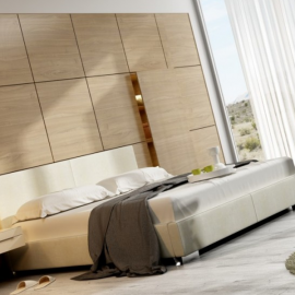 Łóżko CLASSIC NEW DESIGN tapicerowane