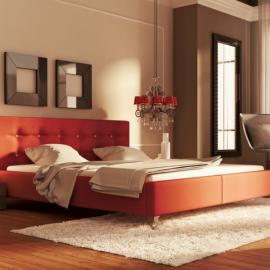 Łóżko GUANA NEW DESIGN tapicerowane
