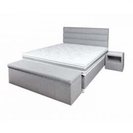 Łóżko MILOS JANPOL tapicerowane