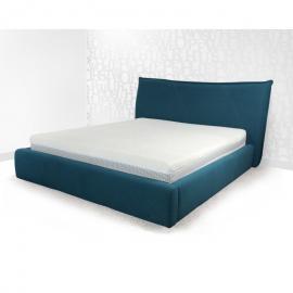 Łóżko LETTO 4 PAN MATERAC tapicerowane