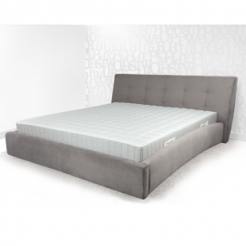 Łóżko LETTO 3 PAN MATERAC tapicerowane