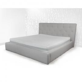 Łóżko LETTO 1 PAN MATERAC tapicerowane